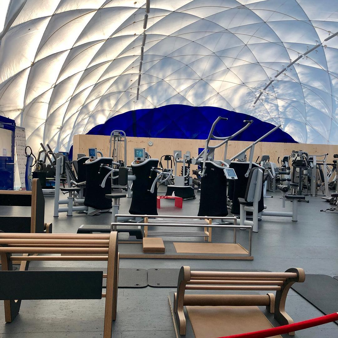 Fitness am Weissensee