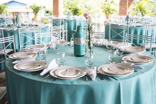 Die passenden Hochzeitsextras zu eurem Hochzeitsmottos können ein optisches Highlight sein.
