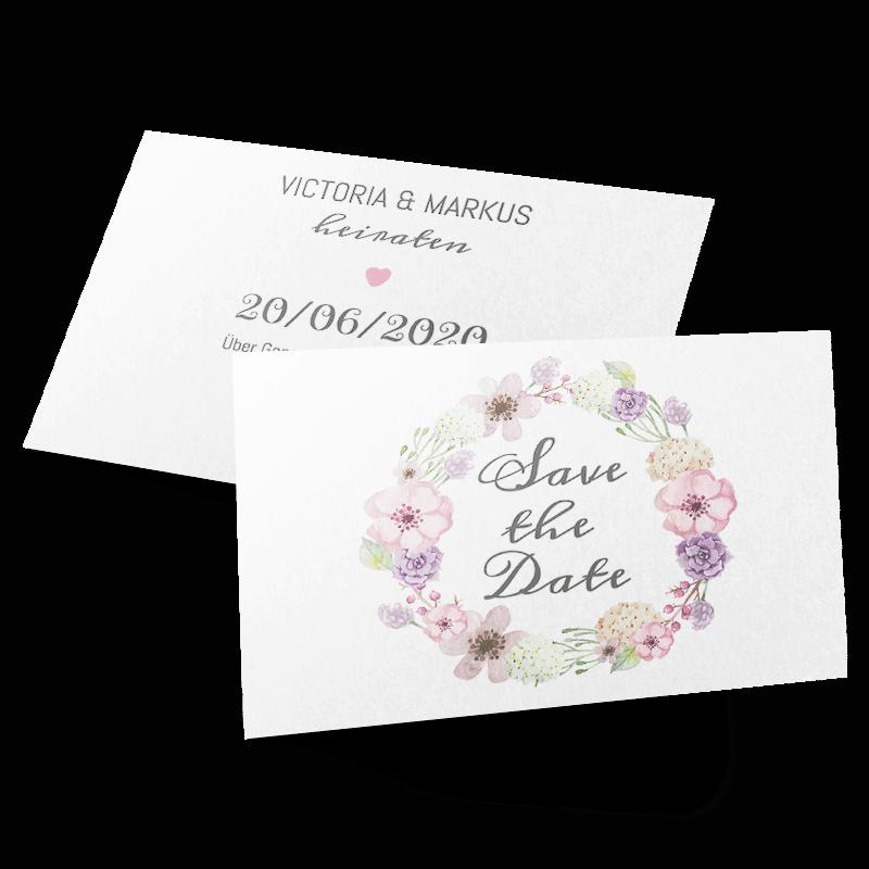 Hochzeitseinladungen online selbst gestalten – bei MyCardShop ganz einfach!