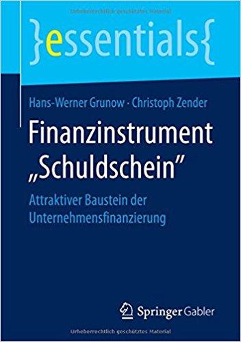 Finanzinstrument Schuldschein